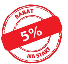 Za zapisanie się do Newsleetera otrzymujesz na pierwsze zakupy rabat w wysokości 5% wartości zamówienia.